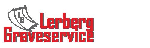 Lerberg Graveservice AS Logo